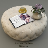 Padma Tufted Ottoman