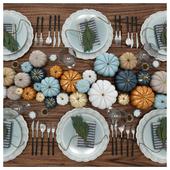 Набор для сервировки стола с посудой Casa de Perrin