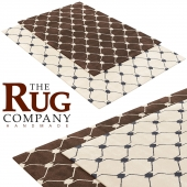 THE RUG COMPANY RIF LIGHT and RIF DARK