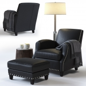 C&B Metropole Leather Chair