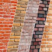 Collection of brick walls 5 pcs.