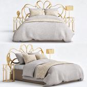 Кованый кровать