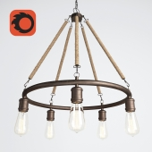 Anette Chandelier 5-Light Candle Chandelier
