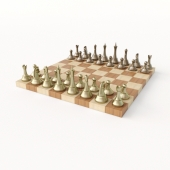 The stack board and set chess