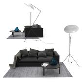 Ligne Roset Bergame sofa set