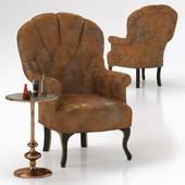 Кресло Cafehouse и приставной столик Swing