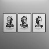 Movie Director Portraits (part 2)