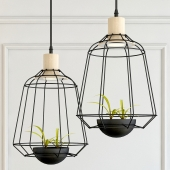 HANGING LAMP POTS LIGHT