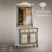 "Dresser + mirror Venezia is ""Country Style"""