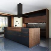 Kitchen Wind Cemento Eta Noir