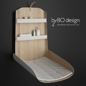 Пеленальный стол настенный ByBO Nathi