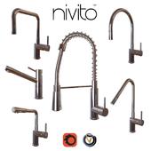 Faucets Nivito cuisine (6 pcs., 8 colors)