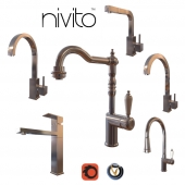 Kitchen Faucets Nivito 2 (6 pcs., 8 colors)