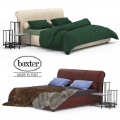 Alfred Leather Bed | Baxter