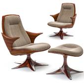Kinesis Chair and Ottoman
