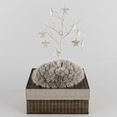 RH - Wool Felt Star Ornament