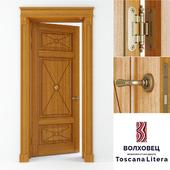 Межкомнатные двери Волховец Toscana Litera