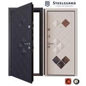 Входная металлическая дверь SteelGuard Luxor