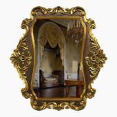 Зеркало в раме барокко
