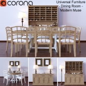 Universal Furniture - Dining Room - Modern Muse