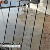 TUREX INTERNATIONAL Marble Tiles Set 54