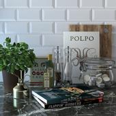 Kitchen counter set