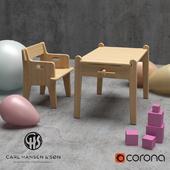Carl Hansen CH410-CH411