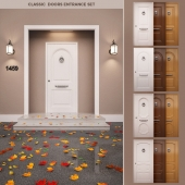 Classic Doors Entrance Set
