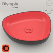 """Olympia Ceramica """"Shapeless washbasin"""""""