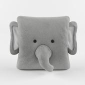 Henry Elephant Plush Throw Pillow