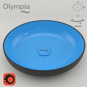 "Olympia Ceramica ""Oval washbasin"""