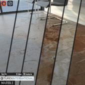 TUREX INTERNATIONAL Marble Tiles Set 64