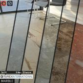TUREX INTERNATIONAL Marble Tiles Set 69