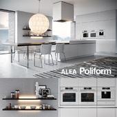 Кухня Poliform Varenna Alea 3 (vray GGX, corona PBR)