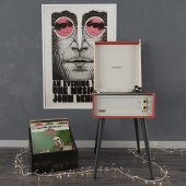 Standing Vinyl Record Player