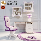 Complete models in children's Italian factory EBANISTERIA BACCI, collection Sophie