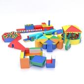 Мягкие модули для игровой комнаты
