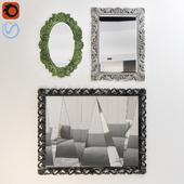 Modern mirror set