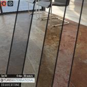 TUREX INTERNATIONAL Travertine Tiles Set 03