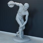Дискобол скульптура