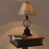 Ashley table Zalarah with  lamp Ondreya