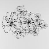 Настенный декор Fancy Flower