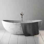Bath stone wite mrable