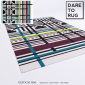 ECSTATIC rug by DARE TO RUG