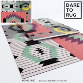 IRONIC rug by DARE TO RUG