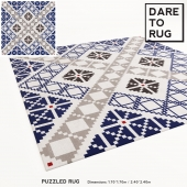 PUZZLED rug by DARE TO RUG