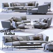 LENNOX Sofa and KYO Armchair