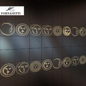 Piero Fornasetti collection Soli e lune