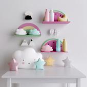 Декоративный набор 1 для детской