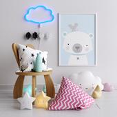 Декоративный набор 2 для детской